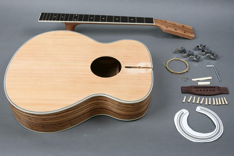 Spruce top jumbo acoustic guitar diy kit gk s4022 byguitar gk s4022 solutioingenieria Gallery