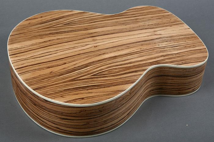 acoustic guitar builder kit spruce top zebrano back sides ebay. Black Bedroom Furniture Sets. Home Design Ideas