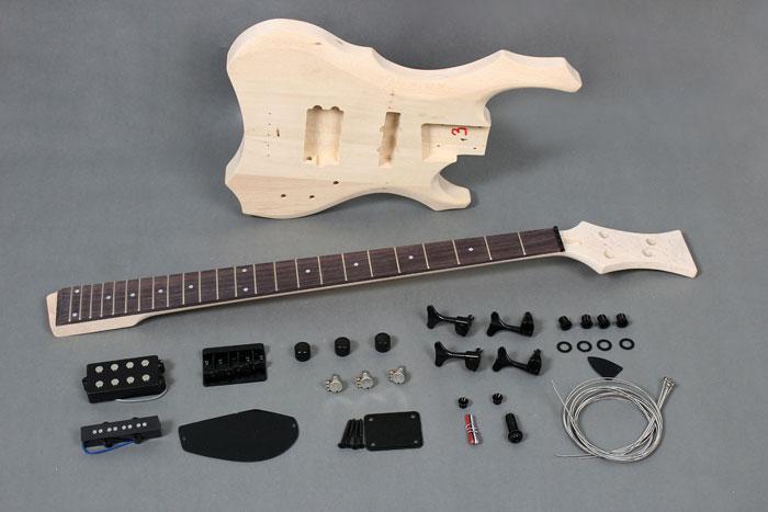 china basswood electric bass diy kit gk sbbg 10 byguitar. Black Bedroom Furniture Sets. Home Design Ideas