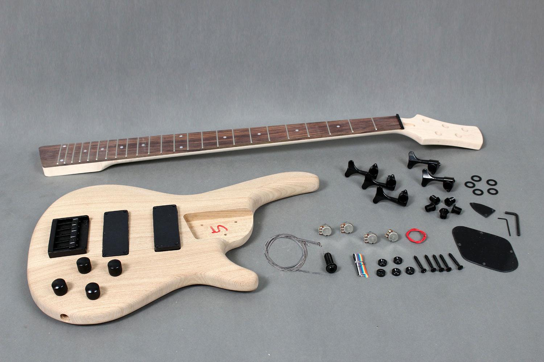5 strings electric bass guitar diy kit with solid ash body gk se5 gk se5 720 solutioingenieria Choice Image