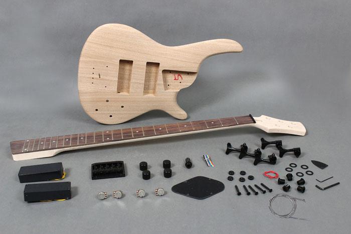 5 strings electric bass guitar diy kit with solid ash body gk se5 720 byguitar. Black Bedroom Furniture Sets. Home Design Ideas